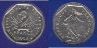 **** FDC 2 FRANCS 1994 ABEILLE SEMEUSE NEUVE SOUS BLISTER - COTE: 80 EUROS ***** EN ACHAT IMMEDIAT !!! - Francia