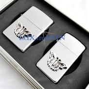 Zippo Partner Butterfly Lighters Set - Accendini - Never Used - Zippo