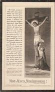 DP. MERE IGNACE POLLENUS-  °HASSELT 1832 - + MAISON MERE 1904 - Religion & Esotericism
