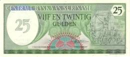 Surinam P.127b 25 Gulden 1985 Unc - Suriname