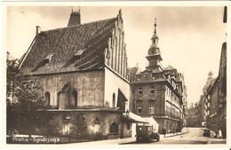 Praha / Prague - Synagoga / Altneusynagoge / The Old Synagogue - Tsjechië