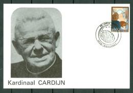België/Belgique 1981 FDC 2026 - Kardinaal Cardijn - Vilvoorde 6.3.82 - FDC