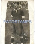 61195 ARGENTINA FUTBOL SOCCER JUAGADOR BREAK 7 X 9.5 CM OLD PHOTO NO POSTAL TYPE POSTCAR - Fotografie