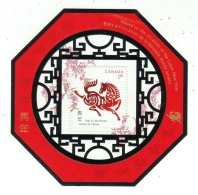 Canada // 2002 // Année Lunaire Chinoise, Année Du Cheval, Bloc-feuillet Neufs ** - 1952-.... Règne D'Elizabeth II