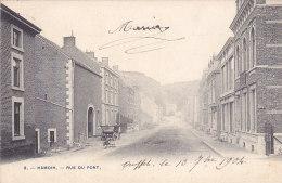 Hamoir - Rue Du Pont (1904, Fontaine, N´a Pas Beaucoup Changé...) - Hamoir