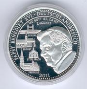 Deutschland Medaille Papst Benedikt XVI. 2011 In PP - Allemagne