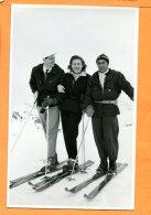 LIPP003, Carte Photo, Foto, Davos, Ski, Skieurs, Animée, Circulée 1951 Sous Enveloppe - GR Grisons