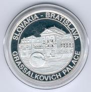 Slowakei/Bratislava Medaille Grassalkovich Palace In PP - Slovaquie