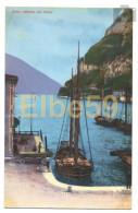 Riva Del Garda (TN), Chromo, Motivo Del Porto, Barca A Vela, Carretto, Nuova - Altre Città