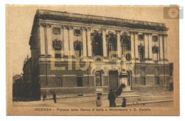 Vicenza (VI), Palazzo Della Banca D'Italia E Monumento A G. Zanella, Nuova - Vicenza