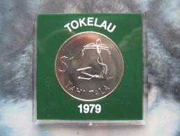 Tokelau 1979 1 Tahi Tala $ Dollar Coin UNC Cased By Royal Mint - Autres – Océanie