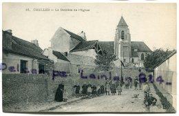 -12 - CHELLES - ( S.-et-M. ), Le Derrière De L'Eglise, Belle Animation, Enfants, épaisse, BE, Scans. - France