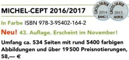 MlCHEL CEPT Briefmarken Katalog 2017 Neu 58€ EUROPA-Rat Vorläufer Mitläufer EG NATO EFTA KSZE Symphatie Catalog Germany - Andere Sammlungen