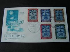 Togo FDC Lome 1958  UNO - Tschad (1960-...)