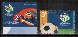 Ukraine WM / World Championship 2006 Satz/set Gestempelt/used - 2006 – Deutschland
