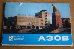 Russia. Azov City , 14 Postcards Lot - 1979 - Rusland