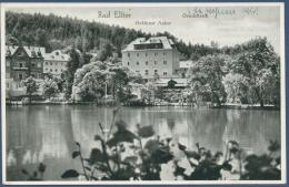 Bad Elster Goldener Anker Am Louisa-Teich, Gelaufen 1933 (AK938) - Bad Elster