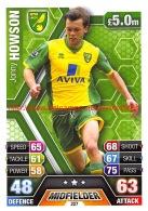 Jonny Howson - Norwich City - Trading Cards