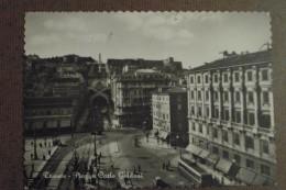 TRIESTE   - PIAZZA GOLDONI  -  - 1955 -  -BELLISSIMA - Trieste