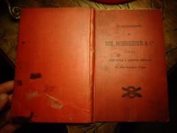 Et Schneider 1900: Le Creusot Le Havre Decise Harfleur Houillères Montchanin : Canon Navires De Guerre Pont Locomotive - Le Creusot