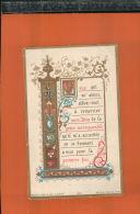 IMAGE PIEUSE  Souvenir   Première Communion 1898    Nov 2016 12 - Religione & Esoterismo