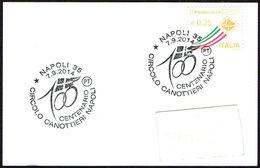 ROWING - ITALIA NAPOLI 2014 - CENTENARIO CIRCOLO CANOTTIERI NAPOLI - SMALL SIZE CARD - Canottaggio