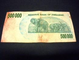 ZIMBABWE 500000  Dollars 01/07/2007,pick N°51 ,ZIMBABWE - Zimbabwe