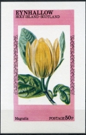 Eynhallow, Scotland, Flowers, Flora, MNH Imperforated Cinderella Sheet - Sellos