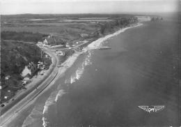 CALVADOS 14    VIERVILLE SUR MER  OMAHA BEACH  VUE AERIENNE   GUERE 1939 45  CACHET BAYEUX - Frankreich
