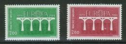 Europa-Cept // 1984// Andorra-Français Yvert&Tellier 329-330 Timbres Neufs ** - Europa-CEPT