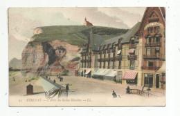 Cp , 76 , ETRETAT , L'hôtel Des ROCHES BLANCHES , Voyagée 1911 - Etretat