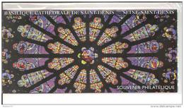 Blocs Souvenirs Basilique Cathédrale St Denis Sous Blister - Souvenir Blokken