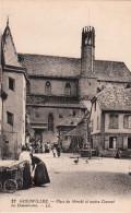 GUEBWILLER-PLACE DU MARCHE ET ANCIEN COUVENT - Guebwiller