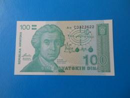 Croatie Croatia 100 Dinara 1991 P20a UNC - Croatia