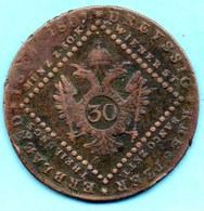 R5/  AUTRICHE / AUSTRIA  30 KREUTZER 1807 S - Austria