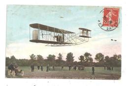 Une Sortie Au Camp D'Auvours Aéroplane-(B.5301) - Flugwesen