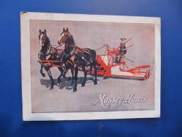 Carte Représentant - MASSEY HARRIS - LIEUSE - Format : 11 X 8 Cm - Agriculture