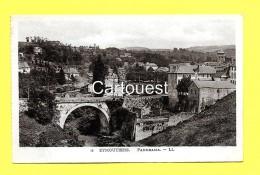 CPA 87 EYMOUTIERS Vue Générale ( Gare - Wagons ) - Eymoutiers