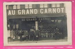 D60. BEAUVAIS. Carte Photo. MAGASIN  VETEMENTS  AU GRAND CARNOT. - Beauvais