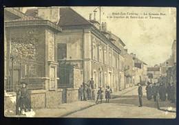 Cpa Du 95  Saint Leu Taverny La Grande Rue à La Jonction De Saint Leu Et Taverny  JIP51 - Taverny