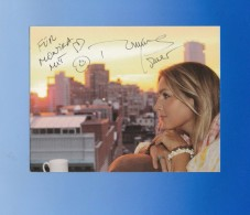 Romina Power - ( US-amerikanische Sängerin - Duos Al Bano & Romina Power)  -  ,  Signiertes Originalautogramm - Autografi