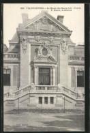 CPA Valenciennes, Le Musée Des Beaux-Arts, Entrée - Valenciennes