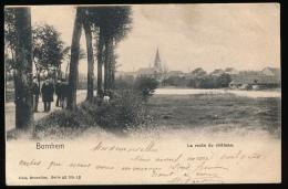 BORNHEM == LA ROUTE DU CHATEAU - Bornem