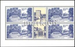 Czech Republic - 2012 - Technical Monuments, The Bata Canal - Mint Booklet Block With 2 Labels - Czech Republic