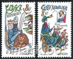 Czech Republic - 1997 - Europa CEPT - Fairytales & Legends - Mint Stamp Set - Tschechische Republik