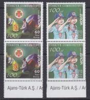 Europa Cept 2007 Turkey 2v Pair  ** Mnh (33442) - Europa-CEPT