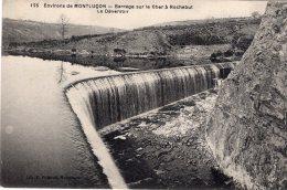 B28514 Barrage Sur Le Cher à Rochebut, Le Déversoir - France
