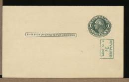 USA - Cartolina Intero Postale - SCHURZ HIGH SCHOOL
