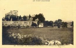 Tarn -  Vaour - Le Cimetière Et Les Ruines De L'abbaye Des Templiers - Vaour