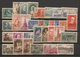 France - Année Complète 1939 - N°419 à 450 - Neuf Luxe ** - MNH - Postfrisch - Cote 343 EUR